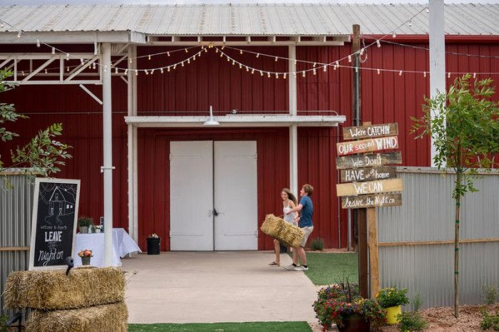 7. This red barn over at Schnepf Farms in Queen Creek is just one of the many reasons to stop by this farm.