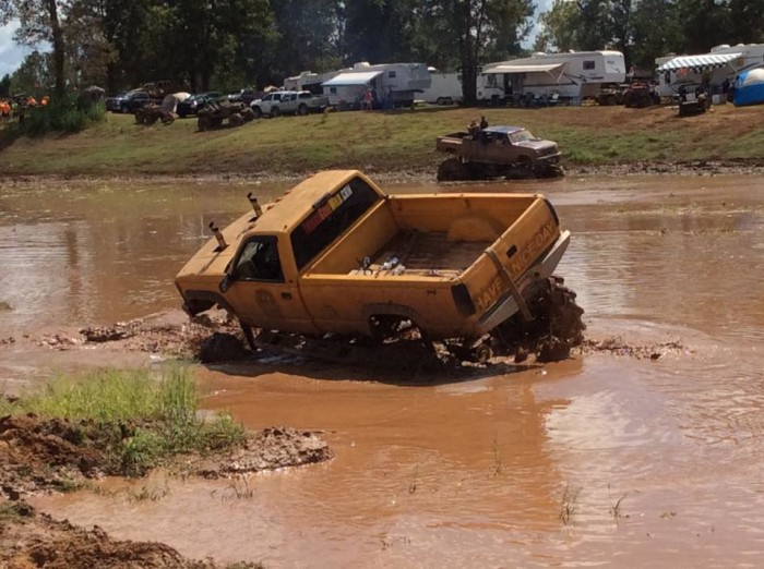 3. Louisiana Mudfest