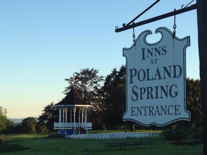 9. The Poland Spring Resort, Poland