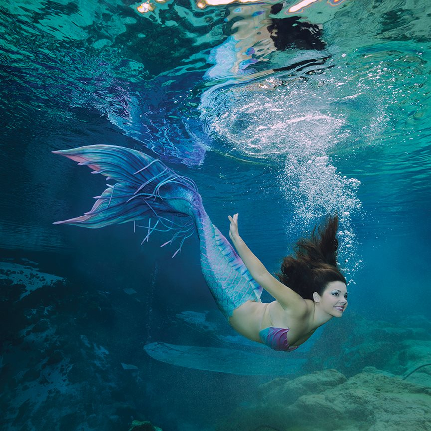 These 18 Magical Photos Of Florida S Live Mermaid City