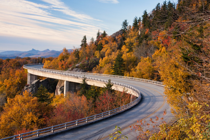 5. Fall on the Blue Ridge Parkway.