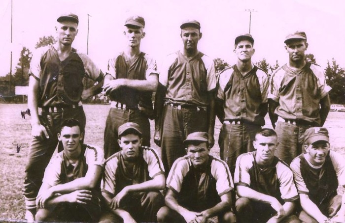 12. Local baseball team, Picayune Drug, in 1957.