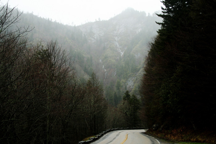 12) A Great Smoky Mountain Road