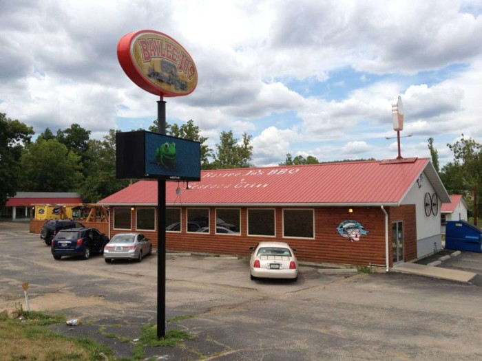 12.  Pork or Beef Baylee's Jo's Sandwich, Baylee Jo's BBQ Seafood and Grill, Ironton