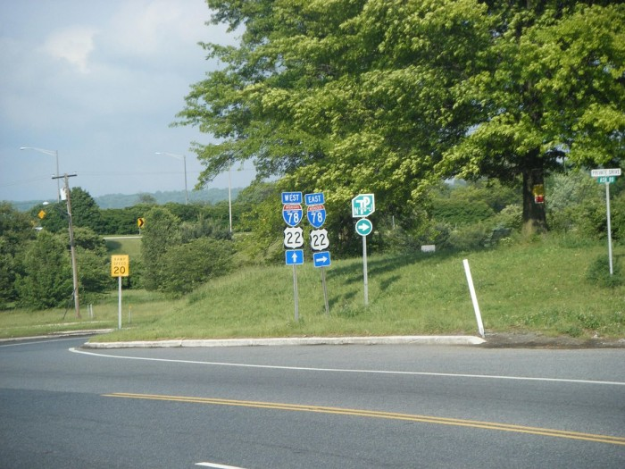 9. US-22, east of I-287