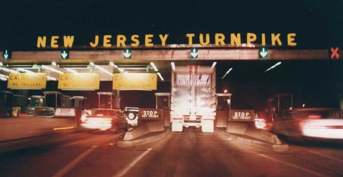 13. New Jersey Turnpike near Exit 8A