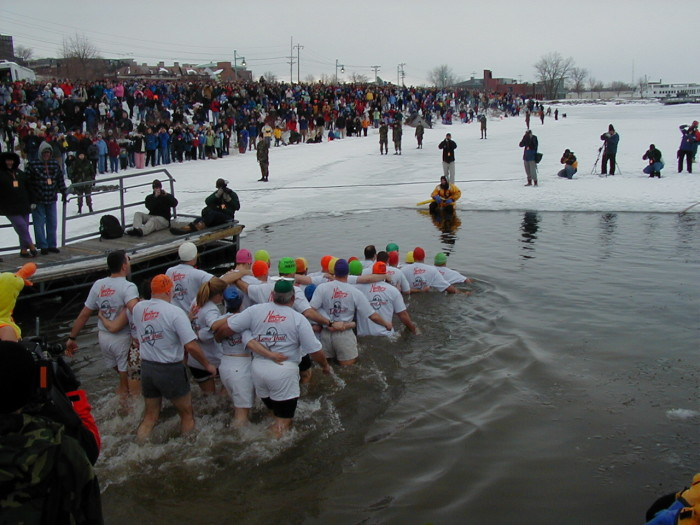 11.  Check out the 2016 Penguin Plunge on February 5 & 6.