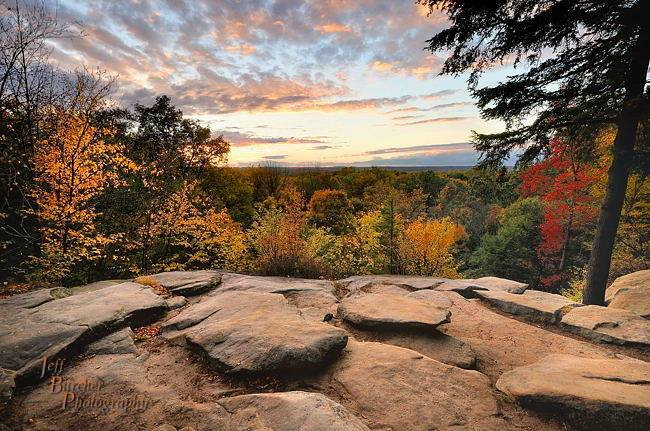 7. Fall at Ledges Overlook in Cuyahoga Valley National Park