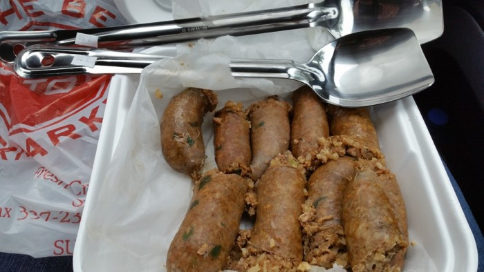 3. Trying to get boudin or cracklin's at a meat store outside of Louisiana. It's just not going to happen.