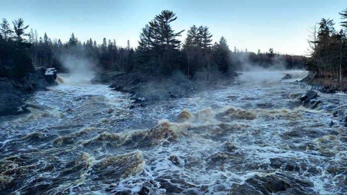 7. Jay Cooke State Park is amazing in the changing temperatures. When the cold fronts move in, you can find some unforgettable views.
