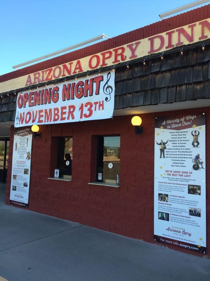 1. Barleens Arizona Opry, Apache Junction