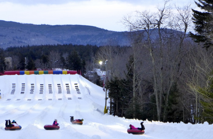 5. Prefer your snow sports sitting down? Definitely take an afternoon and go snow tubing at New England Sports Park in Amesbury. They have a massive stand-alone snow tubing park that will make sledding on your local golf course seem like amateur hour.