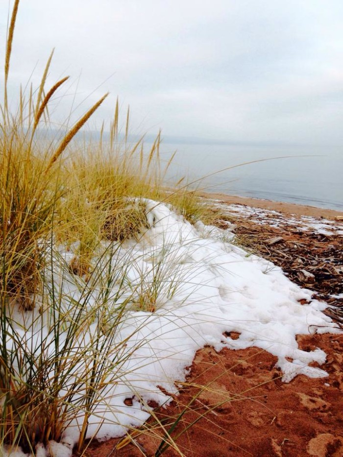 8. What a spectacular view off the coast of Lake Superior!