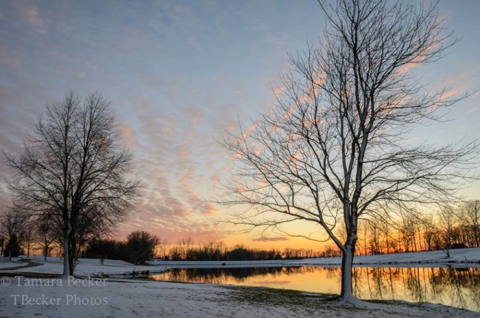 7. An East Lake Park sunset in Mt. Pleasant is captured by TBecker Photos.