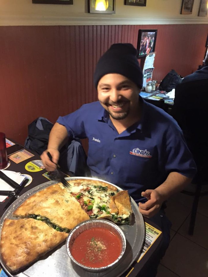 Vermont: The Cal-Mungo Calzone Challenge at Ramunto's Brick Oven Pizza (Williston)