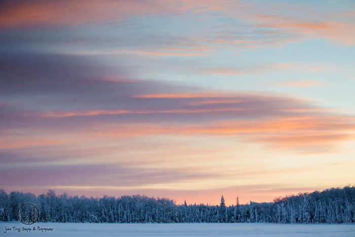 16. Superior National Forest is the perfect place for a winter adventure.