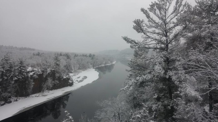 8. Interstate State Park in the winter is magical! The icy St. Croix Dalles are some of MN's best snowy scenery!