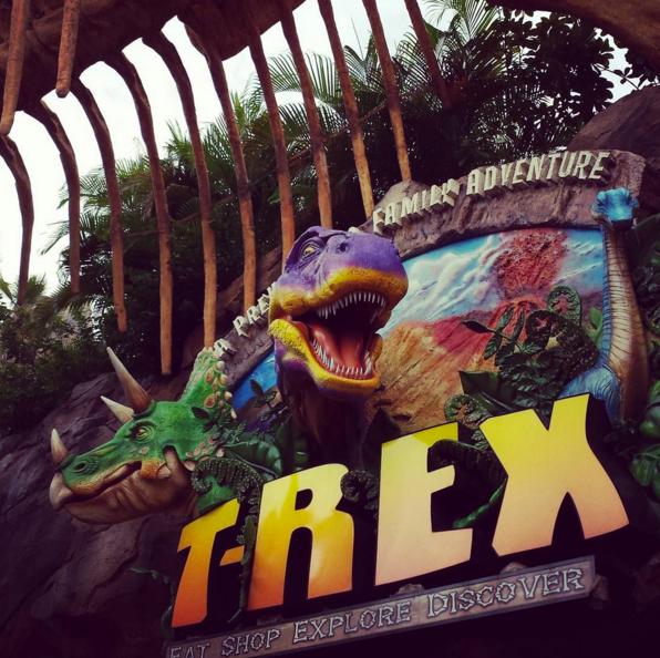 1. T-Rex Cafe (Kansas City)