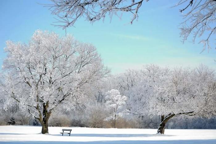 1. Winter in Gibsonburg.