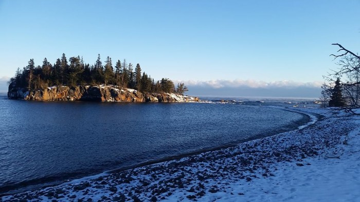 14. Ellingson Island at Split Rock State Park is absolutely gorgeous in any season.