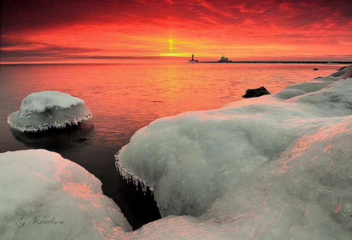 6. The sunrise in Duluth is unbelievable!
