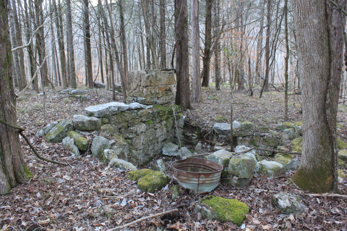 8. Old Homeplace Ruins - Jackson County, AL