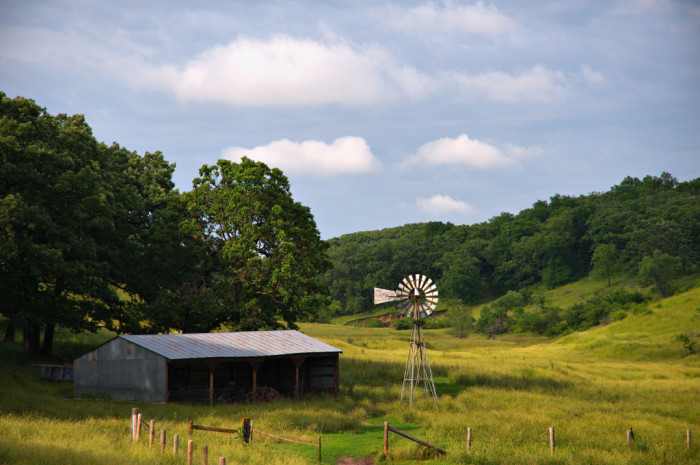12. There is nothing quite like the simple beauty of the land and the farms that are scattered across it.
