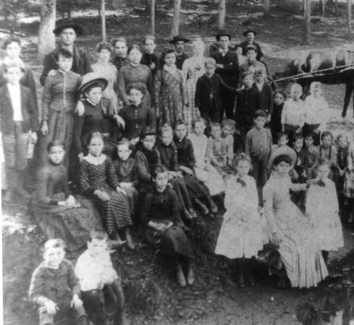 13) Flenniken School Group