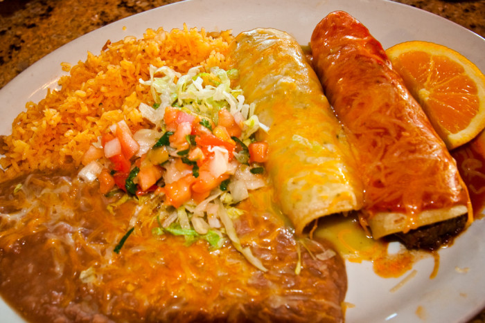 13) The Mexican food is sub-par, at best.