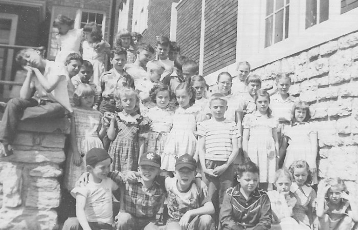 13.	Bristol School in Independence, 1950s.