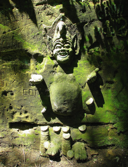 10. The Roland Sherman Carvings, Steamboat Trace Trail near Peru