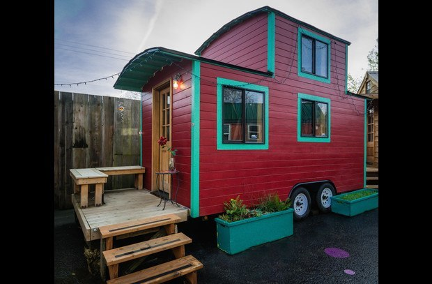 3. Book a tiny house in Portland.