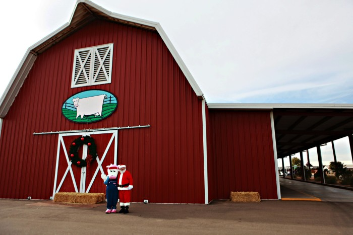 12. And, finally, check out this picture of a large, red barn over at Shamrock Farms in Stanfield. Did you know they offer tours of their farm?