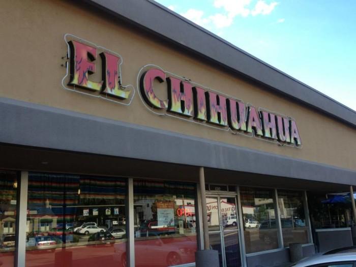 5. El Chihuahua Restaurant, Salt Lake City