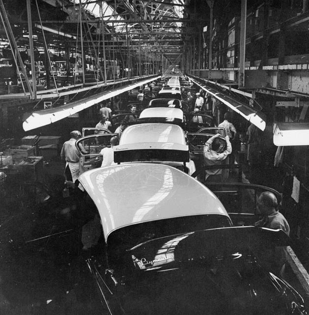6) We invented the assembly line.