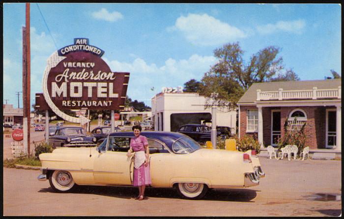 14. The bright and happy Anderson Motel