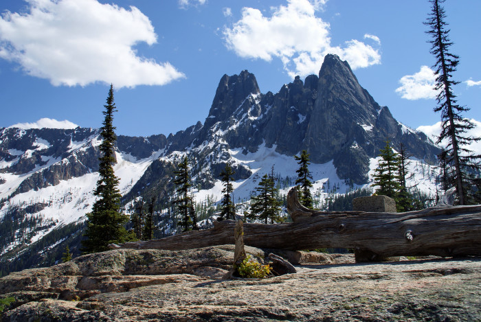 5. This enchanting view can be seen from Washington Pass Overlook, located by the North Cascades Highway (also known as State Route 20).