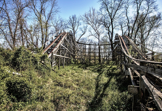 3. The Abandoned Williams Grove Amusement Park
