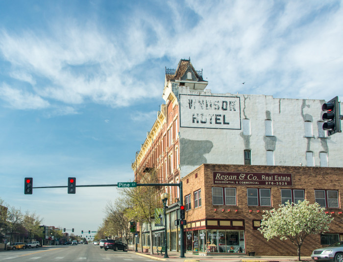 11. Historic Main Street in Garden City