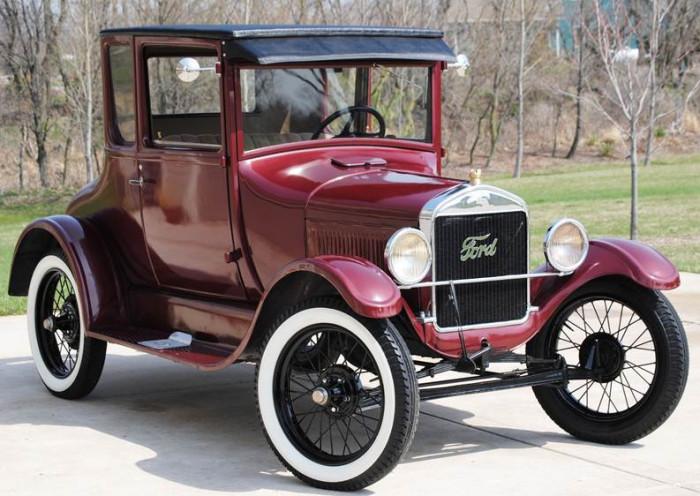 5) ...As well as the modern car.