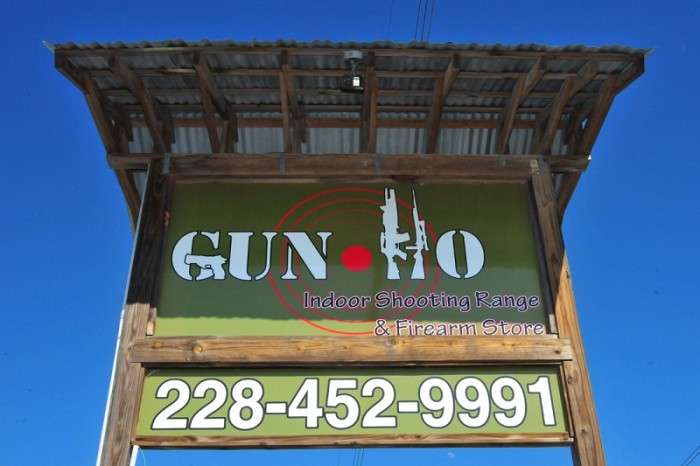 14. Get some target practice at Pass Christian's indoor shooting range, Gun Ho.