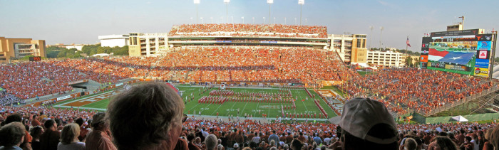 5. UT Football Games (Austin)