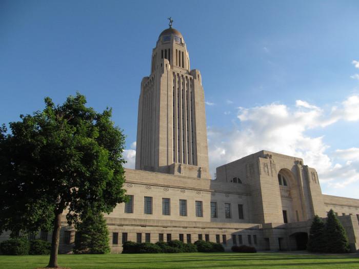 10. The Nebraska State Capitol Building, Lincoln