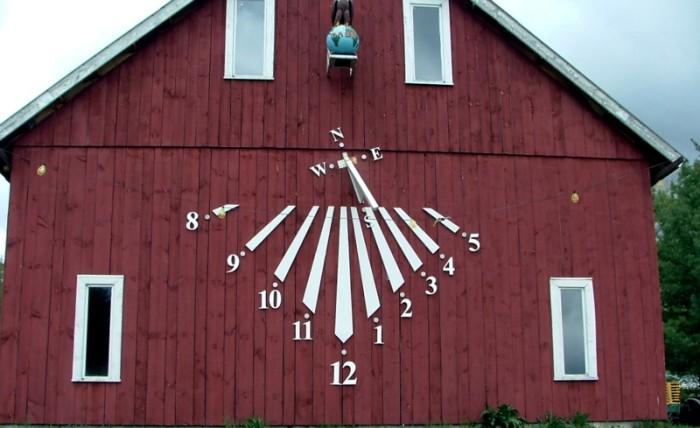 1.  Clock/Compass Barn - Wild.