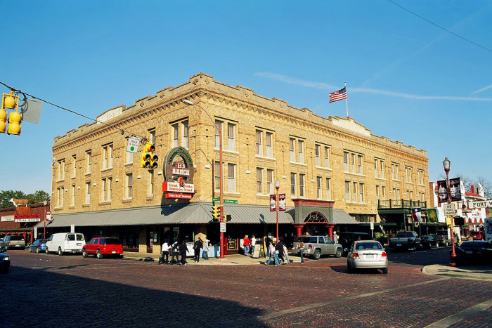 2. The Stockyards Hotel (Fort Worth)