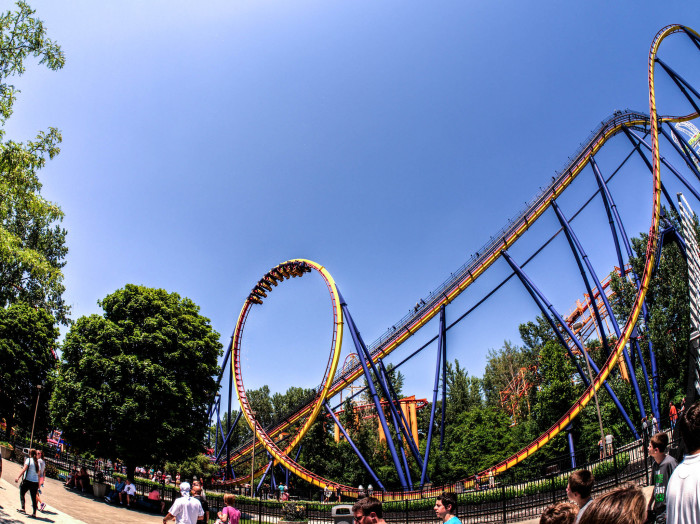 6. We're home to the Roller Coaster Capital OF THE WORLD...