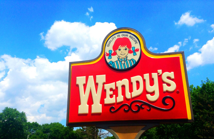 W is for Wendy's.
