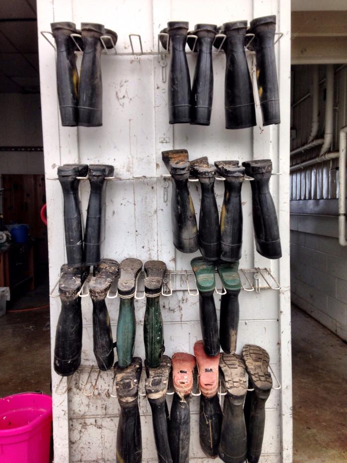 2. Mud Boots