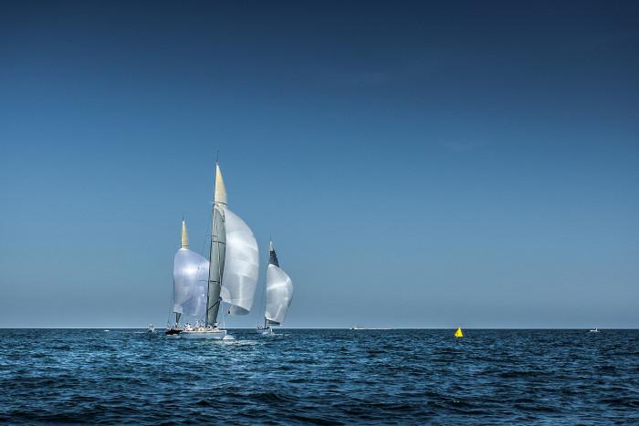 15. Sailing off of Edgartown