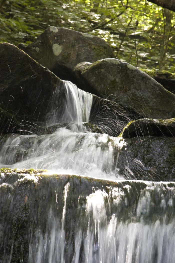 15) A little waterfall in Gatlinburg